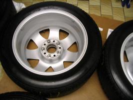 Foto 9 4 gebrauchte Michelin Primacy Pilot Sommerkompletträder SLK Mercedes Benz  incl. 7 Speichen Leichtschmiedefelge 16 Zoll
