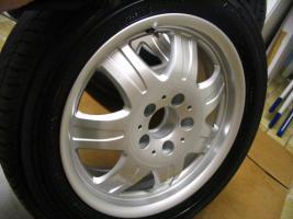 Foto 12 4 gebrauchte Michelin Primacy Pilot Sommerkompletträder SLK Mercedes Benz  incl. 7 Speichen Leichtschmiedefelge 16 Zoll
