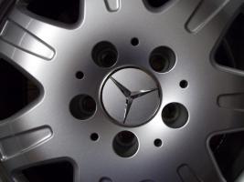 Foto 3 4 gebrauchte SLK Mercedes Benz Leichtschmiedefelgen 16 Zoll ( 7 x 16 ET 34 mm )