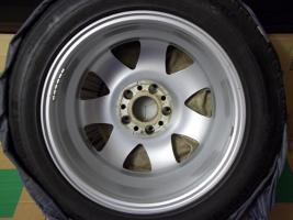 Foto 7 4 gebrauchte SLK Mercedes Benz Leichtschmiedefelgen 16 Zoll ( 7 x 16 ET 34 mm )