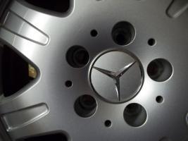 Foto 8 4 gebrauchte SLK Mercedes Benz Leichtschmiedefelgen 16 Zoll ( 7 x 16 ET 34 mm )