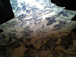 4 handgenähte Kissenbezüge, sehr schön.