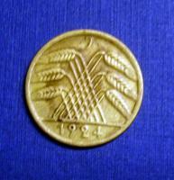 Foto 6 4 mal 50 Rentenpfennig Weimarer Republik