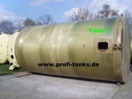 Foto 2 42 m³ / 42.000 Liter Polyestertank GFK-Tank Wassertank Zisterne