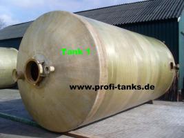 Foto 3 42 m³ / 42.000 Liter Polyestertank GFK-Tank Wassertank Zisterne