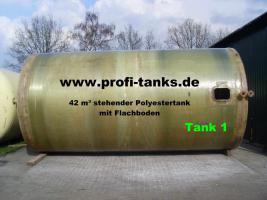 Foto 4 42 m³ / 42.000 Liter Polyestertank GFK-Tank Wassertank Zisterne