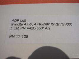 Foto 2 4426-5501-02  Minolta ADF - Belt