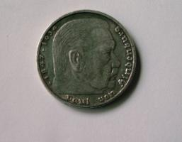 Foto 2 5 DEUTSCHEN REICHSMARK 1936