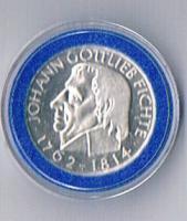 5 DM Silber 150. Todestag Johann Gottlieb Fichte Prägejahr 1964 ! ! !    !