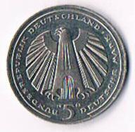 5 Deutsche Mark 1985 G !