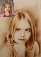 5 € GUTSCHEIN für ein handgemaltes Portrait nach Ihrer Fotovorlage