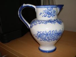 Foto 8 5 wunderschöne Wandteller & 4 Vasen in blau von Delft