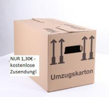 Foto 2 50 NEUE Umzugskartons - 60x33x34 cm doppelwellig