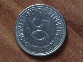 Foto 2 50 Pfennig Münze 1950 G