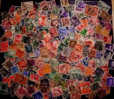500 Briefmarken Deutsches Reich