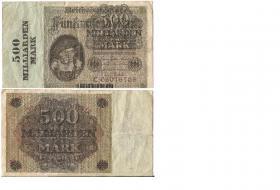 500 Milliarden Mark Reichsbanknote