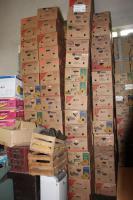 500 stabile Bananenkisten, Bananenkartons, Umzugskartons