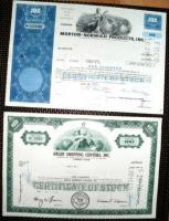 Foto 2 6 Historische Wertpapiere: Aktien, Schuldschein,