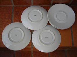 6 Teller Untertasse Porzellan ROSENTHAL