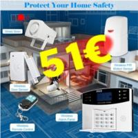 .Wireless GSM SMS Security Alarm System 51€