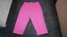 Foto 4 7/8 Hose, Gr. 48, pink, neu