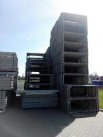 74 m² gebrauchtes Gerüst Baugerüst Bosta 70