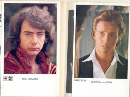 Foto 2 8 Hefte mit Songtexten + Autogrammkarten – 70er/80er Jahre