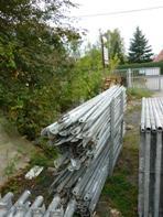 92 m² gebrauchtes Gerüst Plettac SL 70. Gerüste