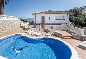 ☀️ Urlaub in Lloret de Mar Ferienhaus Costa Brava Cala Canyelles