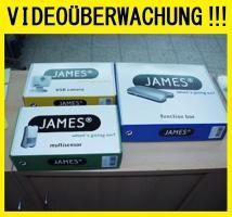★ ★ ★ JAMES PC & MAC DIGITAL USB KAMERA SENSOR BLACKBOX SOFTWARE VIDEO ÜBERWACHUNG ★ ★ ★