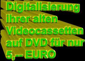 Foto 3 ★ DIGITALISIERUNG  VON VHS, VHS-C, S-VHS, VIDEO-8, HI-8, DIGITAL-8 UND MINI-DV ★