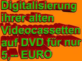 ★ DIGITALISIERUNG  VON VHS, VHS-C, S-VHS, VIDEO-8, HI-8, DIGITAL-8 UND MINI-DV ★