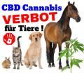 ⛔️ CBD für Hund, Katze, Pferd VERBOTEN ⛔️ Kekse Pellets