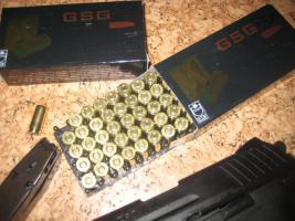 Foto 3 9..PAK Patronen von  german Sport Guns getestet von R Spies intern . Sicherheitsexperten