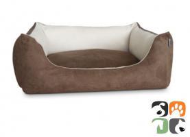 ADViN Wildleder-Look Hundebett Hundesofa, diverse Farben & Größen