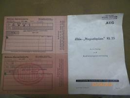 Foto 5 AEG Magnetophon KL 25