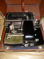 Foto 2 AEG Mignon Schreibmaschine Model 4 (ab 1934 )