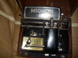 Foto 3 AEG Mignon Schreibmaschine Model 4 (ab 1934 )