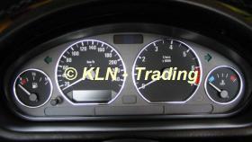 ALU Tacho- und Lüftungsringe für BMW e36 (7 Ringe)
