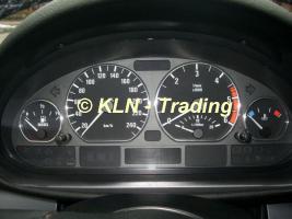 ALU Tachoringe für BMW e46 (4 Ringe)