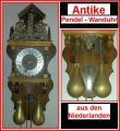 ANTIKE PENDEL - WANDUHR aus den Niederlanden
