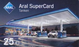 ARALSuperCard Tankgutschein im wert von 25 euro !