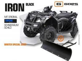 ATV Neufahrzeug Goes Iron EFI 4x4 + Schneeschild zum Aktionspreis