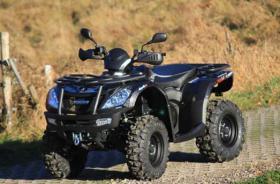 Foto 2 ATV Neufahrzeug Goes Iron EFI 4x4 + Schneeschild zum Aktionspreis