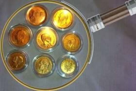 Foto 2 AUS SAMMLUNG 8 Gold Münzen, 5M, 10 M, 20 Mark vom Kaiserreich, sehr seltene Stücke dabe