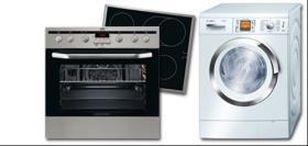 AUSVERKAUF: Großgeräte für den Haushalt, Waschmaschinen, Wäschetrockner, Küchenherde mit Best-Preis-Garantie !!!