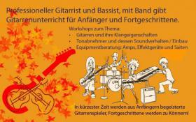 Ab dem Juni 2019 biete ich Zwei Stunden Gitarrenunterricht für 50 Euro in Kiel an.