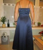 Foto 3 Abendkleid königsblau lang Gr. 38 ''Avanti Design'' mit Stola