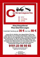 Abschleppdienst supergünstig ab 30€ einfach anrufen Hamburg u.s.w