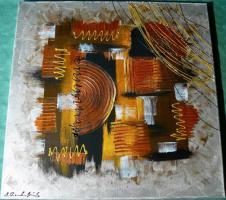 Acryl auf Leinwand Komposition (B042)